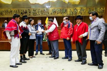 Presidenta de la Asamblea Nacional recibió el proyecto del nuevo Código Orgánico de Trabajo