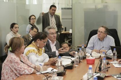 Comisión de Soberanía cumple su tercera semana de audiencias públicas de semillas