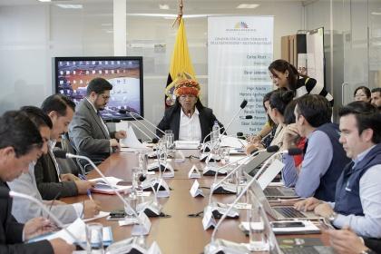 Prefectos, asambleístas electos, Conagopare y Comaga darán aportes a Ley Amazónica