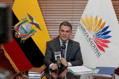 José Serrano Salgado, presidente de la Asamblea Nacional. Foto - Archivo