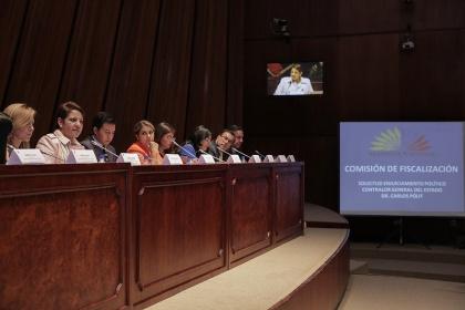 Presidenta del Consejo de Participación comparecerá en Comisión de Fiscalización