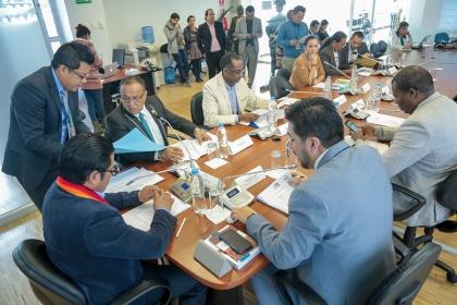 Derechos Colectivos prepara informe para primer debate de Ley interpretativa a la Ley de Personas Adultas Mayores
