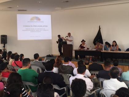 Ley de Semillas contribuye al desarrollo productivo del país: Miguel Carvajal