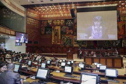 Sesion del Pleno 556,  proyecto de Ley de Defensoría del Pleno,