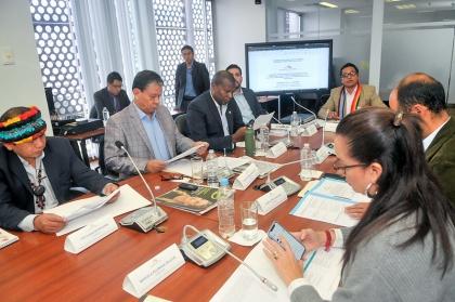 Ministra de Inclusión Económica, SRI y Servicio Nacional de Aduanas acuden a Derechos Colectivos