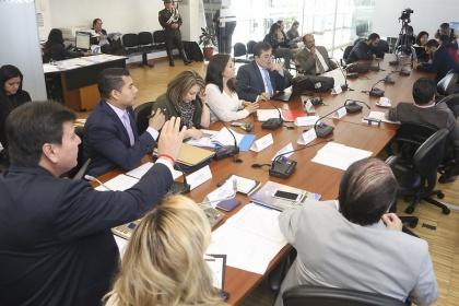 La Comisión Ocasional para atender los casos de personas desaparecidas, proyecto de Ley,