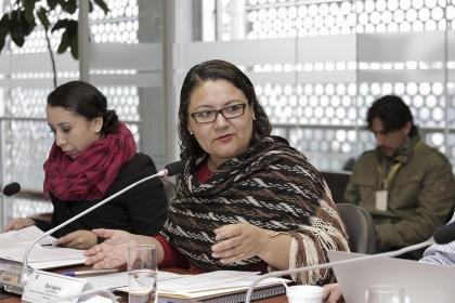 Asambleísta Dora Aguirre. Foto - Archivo