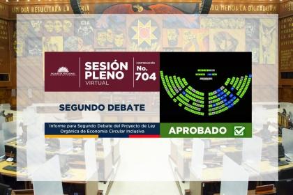 Parlamento ecuatoriano aprueba normativa de Economía Circular Inclusiva, la primera en Latinoamérica