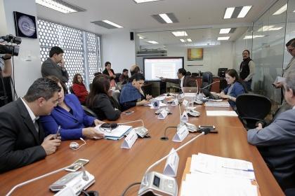 Comisión aprobó informe de proyecto a favor de deudores de buena fe