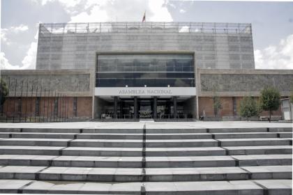 La Asamblea Nacional la reforma a la Ley de Servicio Público y al Código del  Trabajo. Foto - Archivo