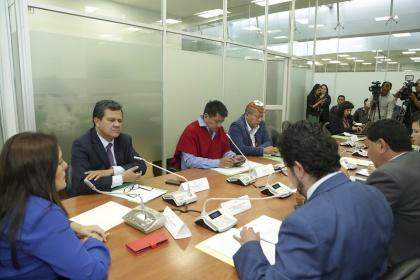 Fiscalización convocará al ministro Carlos Pérez para que informe sobre presuntas  irregularidades en la Corporación Eléctrica