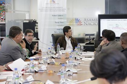 Comisión quiere resolver problema limítrofe de la Manga del Cura y Las Golondrinas