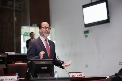 Es necesario un Código de Comercio que nos permita ser más competitivos: Galo Borja