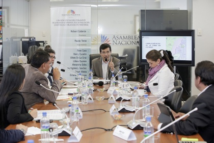 Comisión de Gobiernos Autónomos debatirá proyecto que legaliza tierras en Guayas. Foto - Archivo