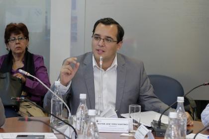 Asambleísta Héctor Yépez, presidente de la Comisión de Participación Ciudadana. Foto - Archivo