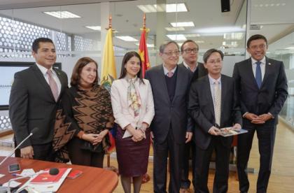 Grupo Interparlamentario de Amistad junto a la Asamblea Popular de China cumplen  varias actividades