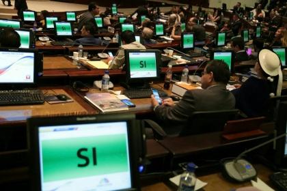 Pleno resolvió enjuiciar políticamente al Fiscal Baca y destituir del cargo de Presidente de la Asamblea Nacional a José Serrano