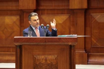José Serrano evidenció inconsistencias en el audio de su conversación con Pólit y aseguró que se quiere debilitar la institucionalidad