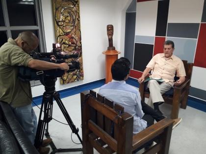 José Torres, asambleísta por América Latina y el Caribe, rindió cuentas en Caracas