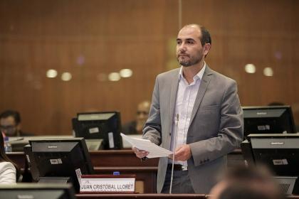 Juan Lloret: velaremos porque se cumplan las asignaciones para los GAD