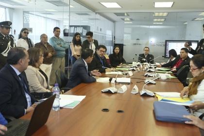 Comisión Ocasional para Vigilar el Cumplimiento de las Obligaciones del Estado con los Jubilados, extrabajadores antiguo Banco de Fomento