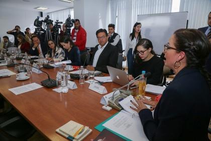 Comisión de Justicia, proyecto de Ley Anticorrupción, primer debate,