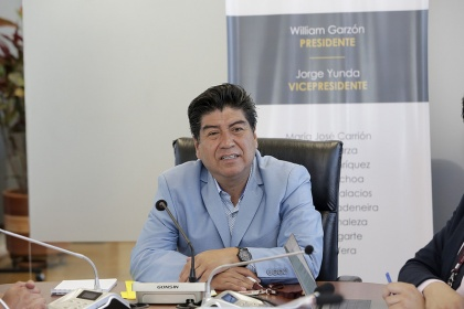 Asambleísta Jorge Yunda, vicepresidente de la Comisión del Derecho a la Salud
