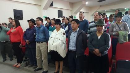 Semillas nativas y asistencia técnica, inquietudes de campesinos de Cotopaxi