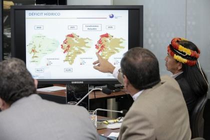 Senagua trabaja en planificación nacional de recursos hídricos, eje de Ley Amazónica
