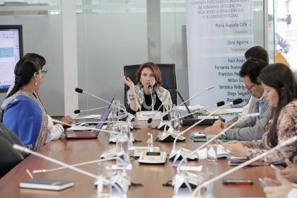 Comisión de Relaciones Internacionales. Foto - Archivo