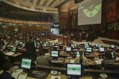 sesión del Pleno 569, proyectos de resolución: Solidariad con personal de la seguiridad del Estadoy Central Hidroeléctrica Manduriacu