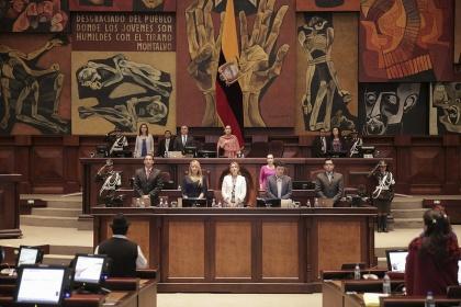 En Ecuador, el Parlamento tiene 42% de presencia femenina. Foto - Archivo