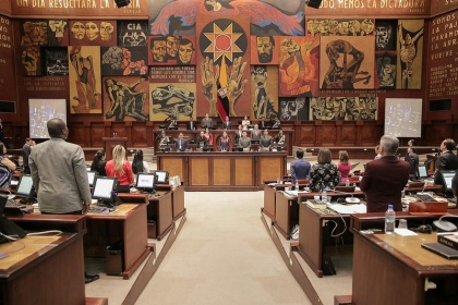 El Pleno de la Asamblea Nacional aprobó el proyecto el 6 de julio pasado. Foto - Archivo