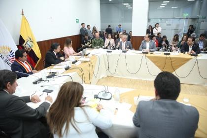Con versión del Ministro de Defensa, Comisión Multipartidista cerró comparecencias
