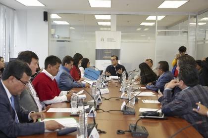 Comisión de Participación Ciudadana, Proyecto de Ley Participación Ciudanana,