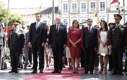 Elizabeth Cabezas, Presidenta de la Asamblea Nacional. 461 años de Fundación de Cuenca