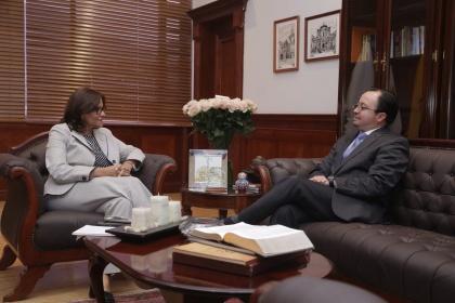 Elizabeth Cabezas, Presidenta de la Asamblea Nacional