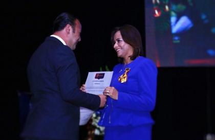 Elizabeth Cabezas. Asamblea Nacional. Visita Riobamba