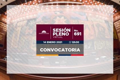 Pleno tramitará tres proyectos de enmienda constitucional en segundo debate