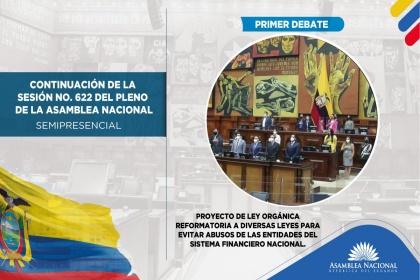 Continuación de la sesión 662 del Pleno, abusos de las entidades del Sistema Financiero Nacional.