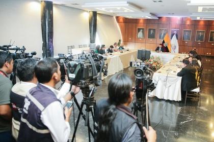 Agenda Parlamentaria incluye temas para impulsar empleo, seguridad y fortalecimiento institucional