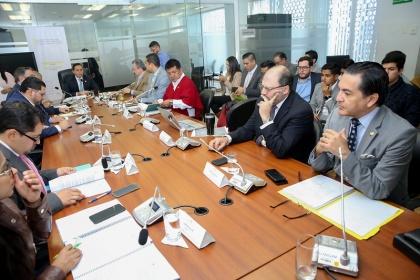 Régimen Económico continuará con el análisis de las reformas a la Ley de Contratación Pública