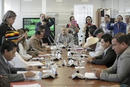 La Comisión de Biodiversidad socializa el proyecto de Ley de la Circunscripción Territorial Especial Amazónica. Foto - Archivo