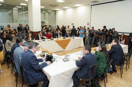 Informe de proyecto urgente pondrá en debate las observaciones de sectores involucrados y legisladores