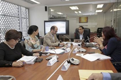 La Comisión de Régimen Económico analiza el proyecto de Código de Comercio. Foto - Archivo