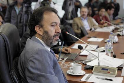 Asambleísta Pabel Muñoz, presidente de la Comisión de Régimen Económico. Foto - Archivo