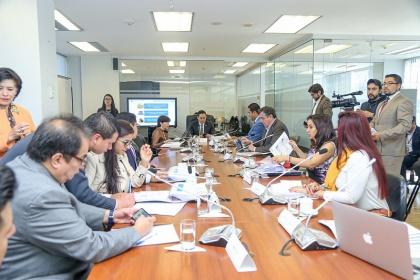 Comisión de Régimen Económico, reformas al Código Monetario,