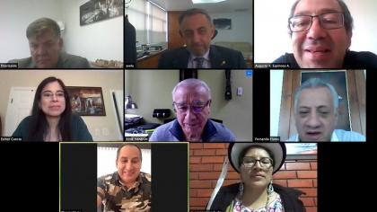 Comisión de Relaciones Internacionales, contratación vial de Quito,