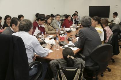 La Comisión de Soberanía Alimentaria lidera las audiencias públicas provinciales del proyecto de Ley de Semillas. Foto - Archivo