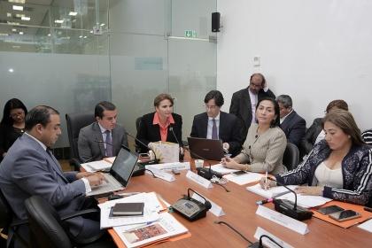 La Comisión de Soberanía Alimentaria. Foto - Archivo